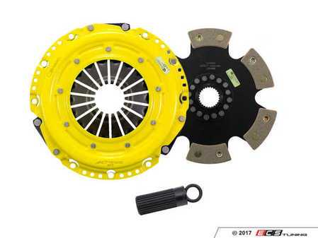 ES#3438742 - bm8-hdr6KT - Heavy Duty Rigid 6-Pad Racing Clutch Kit With XACT Streetlite Flywheel - Perfect for aggressive drag and road racing demands. Conservatively rated up to 565 ft/lbs torque capacity. - ACT - BMW