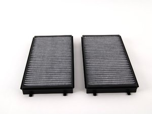 ES#257621 - 64116921019 - Charcoal Cabin Filter - Pair - Keep the air coming into your vehicle clean - Meyle - BMW