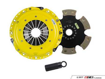 ES#3438031 - BM8-XTR6 - Xtreme Rigid 6-Pad Racing Clutch Kit - Perfect for high performance street and road racing demands. Conservatively rated up to 665 ft/lbs torque capacity. - ACT - BMW