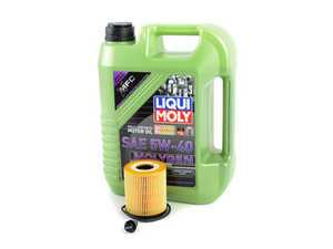 ES#3447567 - 114275124468KT - Molygen Oil Service Kit - Includes Mann oil filter and Liqui Moly 5w-40 oil with Molygen technology - Assembled By ECS - MINI
