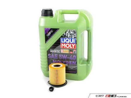ES#4000929 - 114275124468KT1 - Molygen Oil Service Kit - Includes Hengst oil filter and Liqui Moly 5w-40 oil with Molygen technology - Assembled By ECS - MINI
