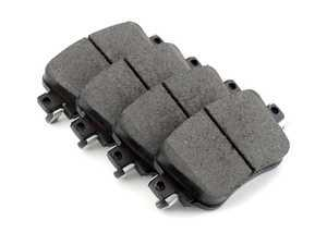 ES#3226566 - 105.17790 - Posi-Quiet Ceramic Rear Brake Pad Set - Includes shims and hardware with the lowest dust - Centric - Volkswagen