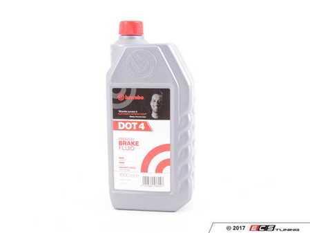 ES#3426890 - L04010 - Dot 4 Brake Fluid - 1 Liter - DOT4 compliant - Brembo - BMW Volkswagen MINI