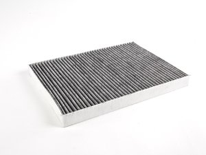 ES#1303001 - 1J0819644A - Charcoal Lined Cabin Filter / Fresh Air Filter OEM# 1J0819644A - The activated charcoal filters odor from reaching the cabin - NPN - Audi Volkswagen