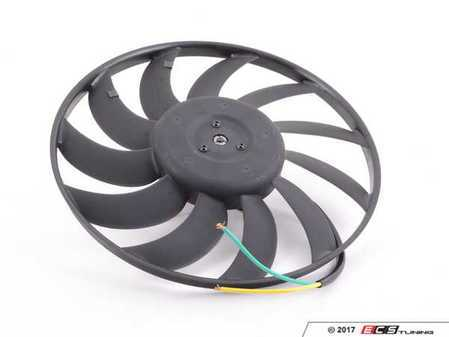 ES#3438635 - 8E0959455L - Electric Fan Assembly - Left (400mm) - Keep your cooling system operating properly - Febi - Audi