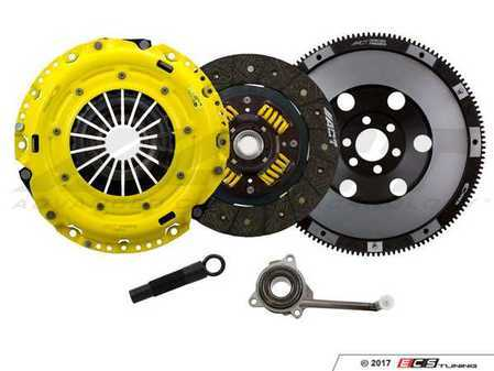 ES#3438063 - VW7-HDSS - Performance Street Clutch Kit - Handles up to 395 lb-ft of torque and includes single mass flywheel (15.7 lbs) - ACT - Volkswagen