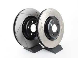 ES#3136980 - 126.33124CSLkt - Front Slotted Cryo Treated Brake Rotors - Pair (345x30mm) - Upgrade your stopping power - StopTech - Audi