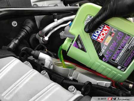 ES#3439033 - molygenKT6 - Liqui Moly MolyGen - Premium Oil Service Kit - Includes Hengst oil filter and Liqui Moly 5w-40 oil with MolyGen technology - Assembled By ECS - Audi