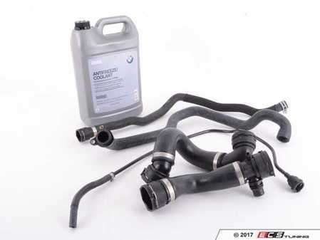 ES#2839050 - 17127564478KT1 - Complete Cooling System Hose Kit - Replace your cooling system hoses with this complete kit including coolant - Assembled By ECS - BMW