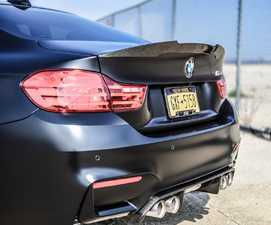 ES#3035728 - MPS82.H - Mode Carbon High Kick Rear Spoiler  - The M4 performance spoiler you love. with an added kick! - Mode Carbon - BMW