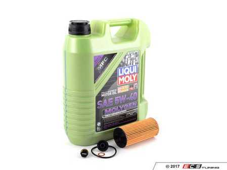 ES#3447569 - 114285705907KT2 - Molygen Oil Service Kit 1.5L - Includes Genuine Mahle oil filter and Liqui Moly 5w-40 oil with Molygen technology - Assembled By ECS - MINI