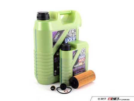 ES#3447601 - 114285705907KT3 - Molygen Oil Service Kit 2.0L - Includes Genuine MINI oil filter and Liqui Moly 5w-40 oil with Molygen technology - Assembled By ECS - MINI