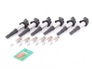 ES#3438289 - 12121312680kt4 - Ignition Service Kit - Includes new spark plugs and coils - Assembled By ECS - BMW