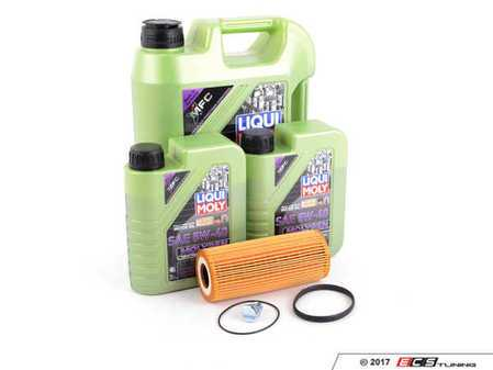ES#3439033 - molygenKT6 - Liqui Moly MolyGen - Premium Oil Service Kit - Includes Mann oil filter and Liqui Moly 5w-40 oil with MolyGen technology - Assembled By ECS - Audi