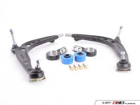 ES#2807032 - 31126758513KT - Performance Front Control Arm Kit - Control arms, Turner Motorsport Polyurethane bushings and brackets, and hardware for a complete front control arm replacement - Assembled By ECS - BMW