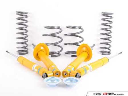 ES#3047906 - 35-114093CKT1 - Performance Suspension Cup Kit - Sport - Featuring Bilstein B8 shocks and H&R sport lowering springs - Assembled By ECS - BMW