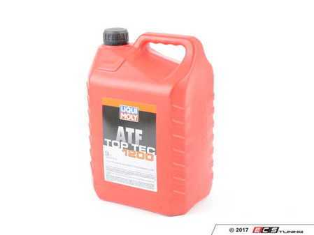 ES#3448669 - 20020 - Top Tec 1200 Synthetic Automatic Transmission Fluid - 5 Liter - Full synthetic fluid with advanced wear-protection technolog - Liqui-Moly - Audi Volkswagen Porsche
