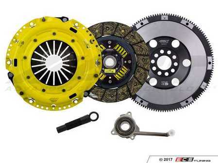 ES#3449085 - VW6-HDSS - Performance Street Clutch Kit  - Handles up to 410 lb-ft of torque and includes single mass flywheel (16 lbs) - ACT - Volkswagen