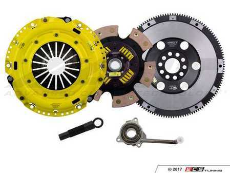 ES#3449086 - VW6-HDG6 - Performance Race Clutch Kit  - Handles up to 525 lb-ft of torque and includes single mass flywheel (16 lbs) - ACT - Volkswagen
