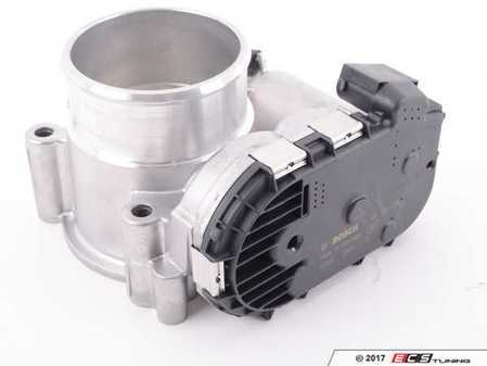 ES#2593856 - 2711410025 - Throttle Body Assembly - Lets air into the intake manifold - Bosch - Mercedes Benz