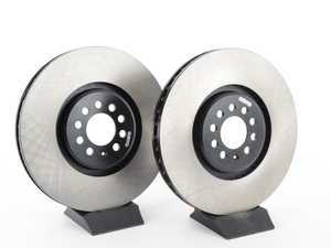 ES#3234579 - 125.33094KT - Front Brake Rotors - Pair (334x32) - Premium, high carbon rotors - Centric - Volkswagen