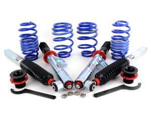 ES#3240903 - 841500118453 - Sachs Performance Coilover Kit  - Set your vehicle low and tight for optimal performance. Adjustable damping for all kinds of driving conditions - SACHS Performance - Audi Volkswagen