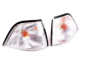 ES#2785378 - 82199403094KT - Front Corner Marker Set - White - Get rid of those ambers! - FER - BMW