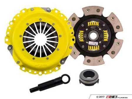 ES#3437991 - BM2-HDG6 - Heavy Duty 6-Pad Sprung Racing Clutch Kit  - Perfect for aggressive drag and road racing demands. Conservatively rated up to 345 ft/lbs torque capacity. - ACT - MINI