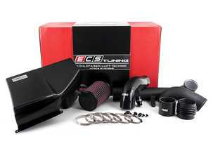 "ES#2863350 - 003910ECS02-02 - Kohlefaser Luft-Technik Intake System - With Carbon Fiber Air Box & Wrinkle Black Aluminum Tubes - In House Engineered ""Air Technology"" for maximum performance and stunning aesthetics - ECS - Volkswagen"