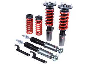 ES#3438333 - MRS1404 - Mono RS Coilover Kit - Adjustable Dampening - Monotube coilovers that give full length adjustment, 32-level Dampening, and front camber plates! - GODSPEED - BMW