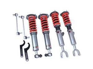 ES#3438332 - MRS1401 - Mono RS Coilover Kit - Adjustable Dampening - Monotube coilovers that give full length adjustment, 32-level Dampening, and front camber plates! - GODSPEED - BMW