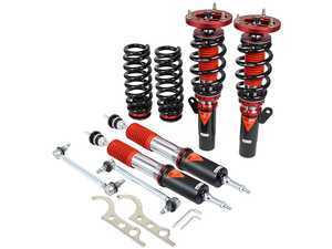 ES#3438331 - MMX3780 - MonoMAX Coilover Kit - Adjustable Dampening - Monotube coilovers that give full length adjustment, 40-level Dampening, and front camber plates! - GODSPEED - BMW
