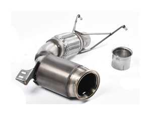 "ES#3187982 - SSXM429 - Downpipe With High Flow Catalytic Converter - OEM Exhaust Fitment  - Featuring a Milltek Sport Hi-Flow Sport Cat with 2.75"" Large Bore Pipe - Milltek Sport - MINI"