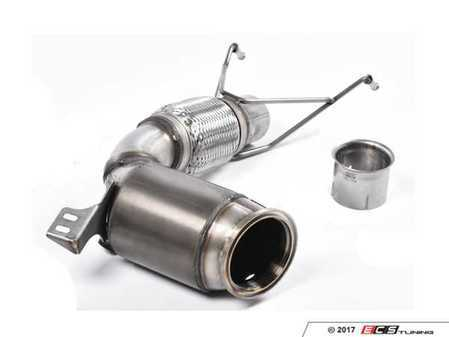 """ES#3187982 - SSXM429 - Downpipe With High Flow Catalytic Converter - OEM Exhaust Fitment  - Featuring a Milltek Sport Hi-Flow Sport Cat with 2.75"""" Large Bore Pipe - Milltek Sport - MINI"""