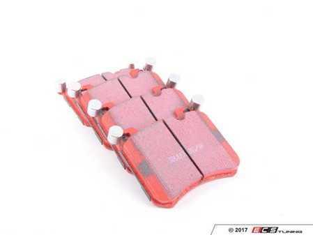 ES#2622344 - DP32091C - Front Redstuff Performance Pad Set - A high performance street pad, featuring Kevlar technology - EBC -