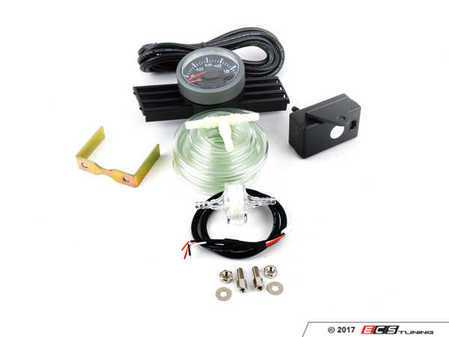 ES#3173680 - 175clsmarboktKT - 45mm Electric Boost Gauge Kit - ProSport Electric boost gauge for precise accurate boost pressure with an OE-like install - Assembled By ECS - BMW