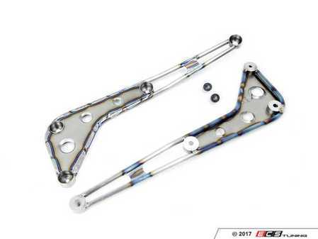ES#3450885 - RKP-F87-CB-T - RKP Corner Brace - Titanium  - Replace those flimsy stock corner braces and add rigidity to your chassis - RKP - BMW