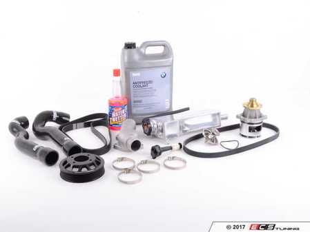 ES#3209628 - 888010330PERKT6 - Performance Cooling Kit - Without Radiator - It's time to get serious about your cooling system! With Mishimoto Aluminum Expansion Tank! - Assembled By ECS - BMW