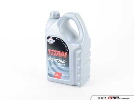 ES#3141551 - 5W405LITERF - SUPERSYN Engine Oil (5w-40) - 5 Liter - High performance synthetic oil - Fuchs - Audi Volkswagen