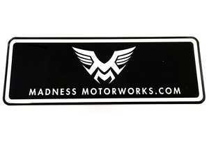 ES#3462908 - MM-Msticker - Madness Motorworks Logo Bubble Sticker - Priced Each - Add the Madness to any location - Madness Motorworks - MINI
