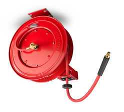 "ES#2938413 - ATD31166 - 3/8"" X 50' AIR/WATER HOSE REEL - Hang from wall or ceiling, up out of the way. - ATD Tools - Audi BMW Volkswagen Mercedes Benz MINI Porsche"