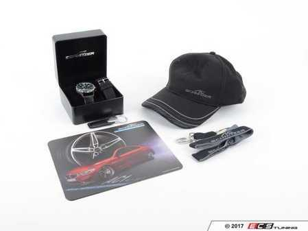 ES#3411162 - 995051987 - AC Schnitzer Fan Pack - Great gift for any AC Schnitzer fan and one of the best values you'll find anywhere for your enthusiast friends - or yourself. AC Schnitzer Chrono Wristwatch, keychain, lanyard, and ball cap. - AC Schnitzer - BMW MINI