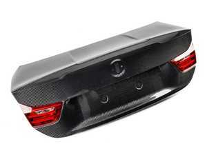 ES#3463067 - RKP-F82-CFT-R-2 - Race Carbon Fiber Trunk Lid - 2x2 Weave - 60% lighter than stock! - RKP - BMW