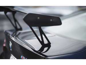 ES#3463085 - RKP-F8X-GTS-RWMB - High Mounts for GTS Wing - Satin Black - Raise your GTS Wing to increase downforce! - RKP - BMW