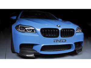 ES#3463101 - RKP-M5FS-1 - F10 M5 Carbon Front Splitters (L&R) 1x1 weave - RKP - BMW