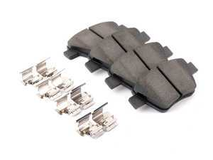 ES#3229496 - 301.14560 - Premium Ceramic Brake Pad Set - Rear - Ceramic pads for quiet and smooth stopping - Centric - Volkswagen