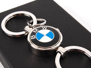 ES#11408 - 82110419004 - BMW Key Chain - Valet - Features the BMW roundel and a removable key ring - Genuine BMW - BMW