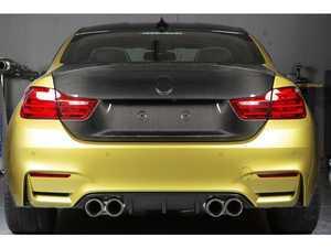 ES#3463069 - RKP-F82-CFT-S-2 - Sport Carbon Fiber Trunk - 2x2 Weave - 60% lighter than stock! - RKP - BMW