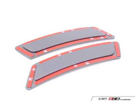 ES#3420918 - BM-0996-A52 - Painted Front Bumper Reflectors - Space Grey  - Clean up your front bumper with paint matched reflectors - AUTOTECKNIC - BMW