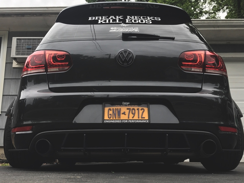 Rear Diffuser, what do you guys think? - VW GTI MKVI Forum